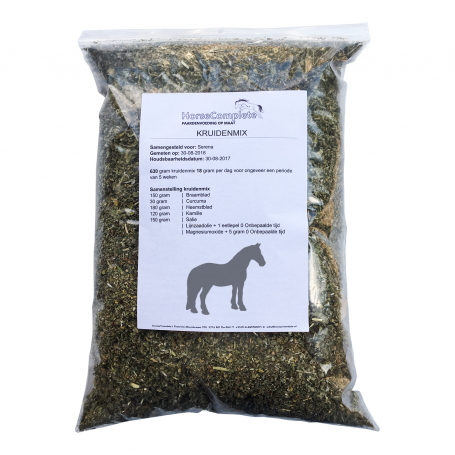 HERB MIX PONY OR HORSE `This if for ponies or horses with a height from 1.46 up to 1.80 M or with a weight up to 700 KG`