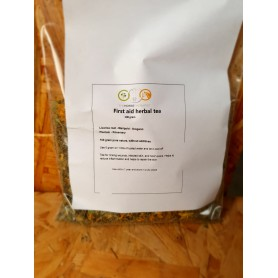 First aid herbal tea for external use